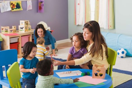 Should you work in a kindergarten?